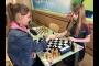 Праздничный турнир по шахматам среди девочек
